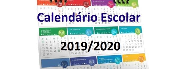 Calendario Dezembro 2019 Janeiro 2020.Calendario Escolar 2019 2020