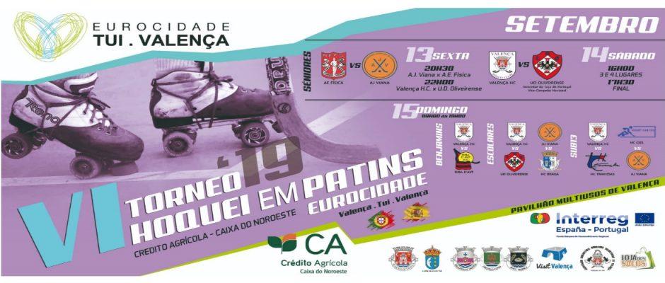 VI Torneio Eurocidade realiza-se entre 13 e 15 de setembro