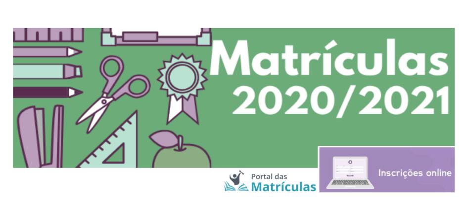 Portal das Matrículas 2020/2021